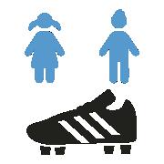 Botas Futbol para Niños y Niñas