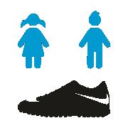 Botas Turf para Niños y Niñas