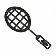 Raq y plumas Badminton