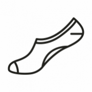 Calcetin Invisible