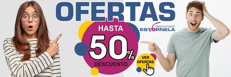Ofertas increibles en Deportes Estornela!! Hasta el 50% de descuento!!