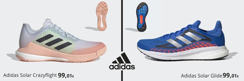 Ofertas increibles en zapatillas Adidas de Running